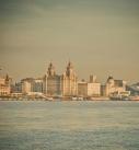 St Columbas Close - Wallasey - Liverpool skyline