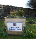 St Peter's Court, Leeds - gardens