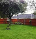 Willow Court, Winsford - garden