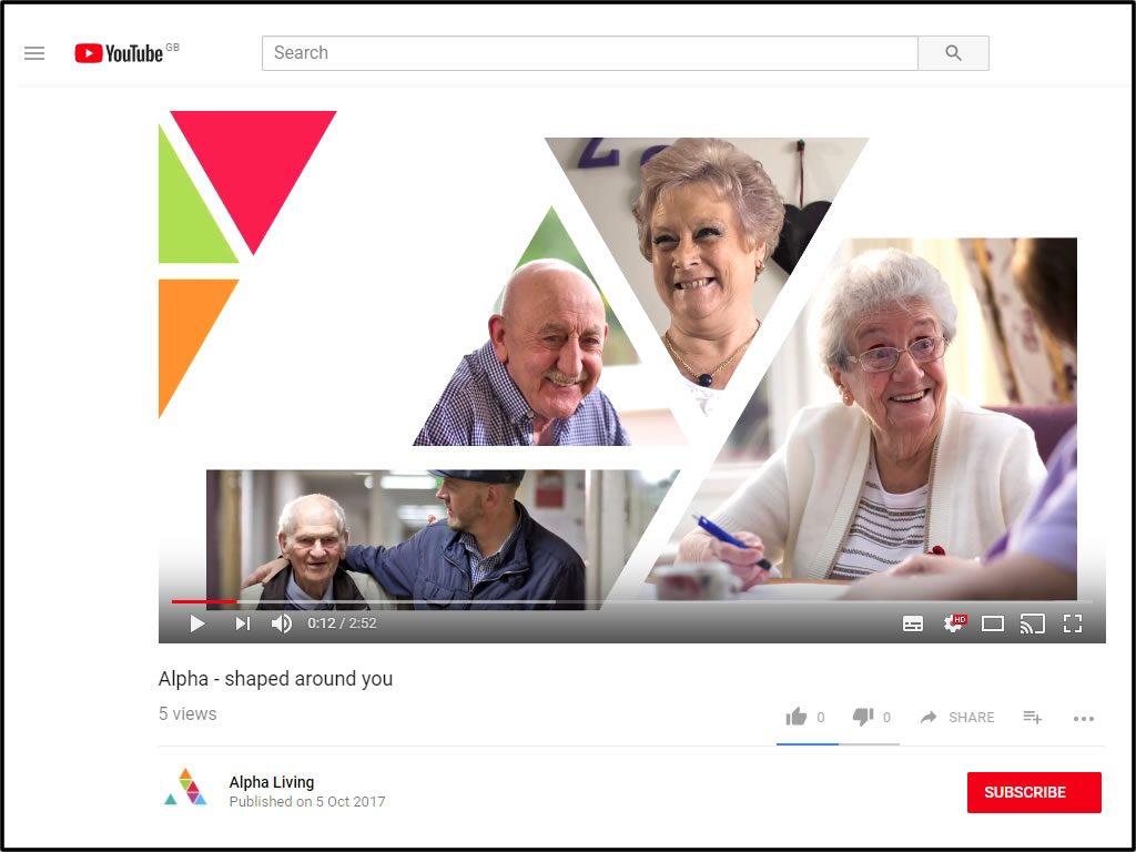 Alpha Corporate Video, October 2017