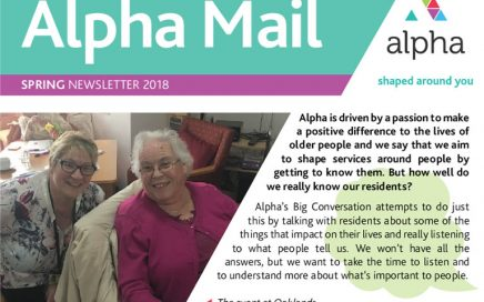 Alpha Mail, Spring Newsletter 2018
