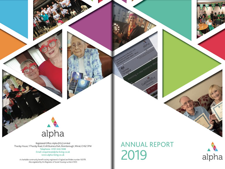 Alpha's Annual Report for 2018/19.