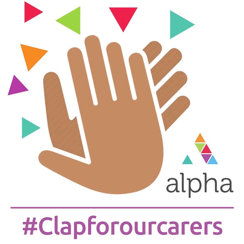 #clapforourcarers